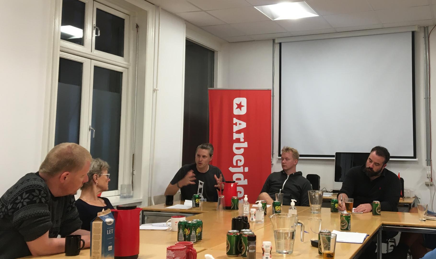 Småt besøgt men vellykket møde om venstrefløjens medier