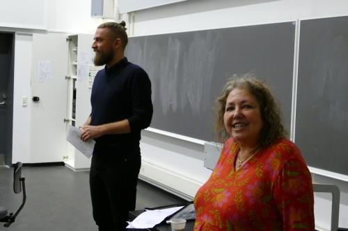 Christian Gorm Hansen og Katrin Hjort