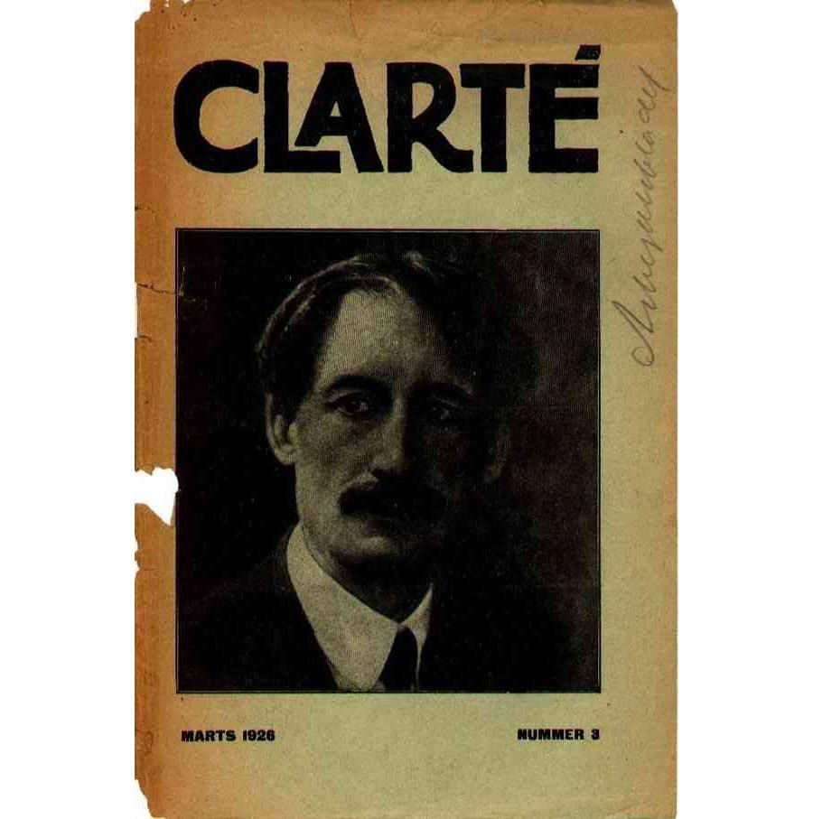 Clarté nr. 3, Marts 1926