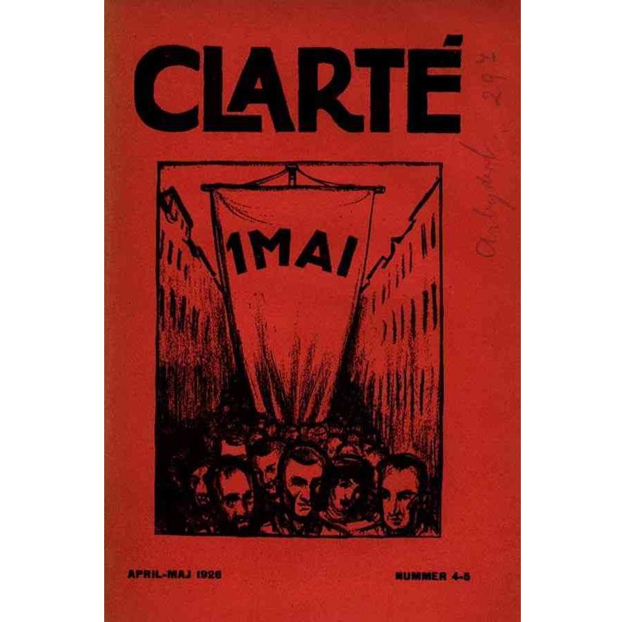 Clarté nr.  4-5, April-Maj 1926