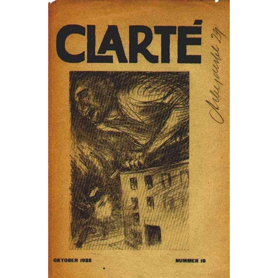 Clarté nr. 10, Oktober 1926