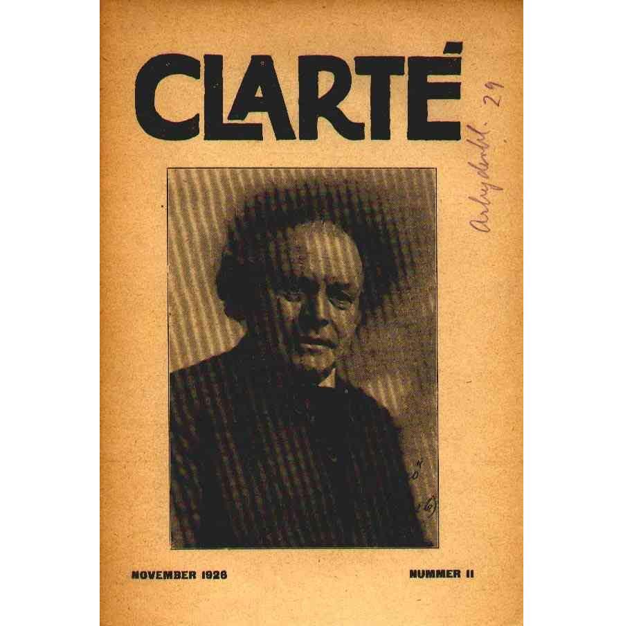 Clarté nr. 11, November 1926