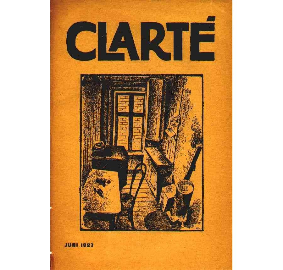 Clarté nr. 6, Juni 1927