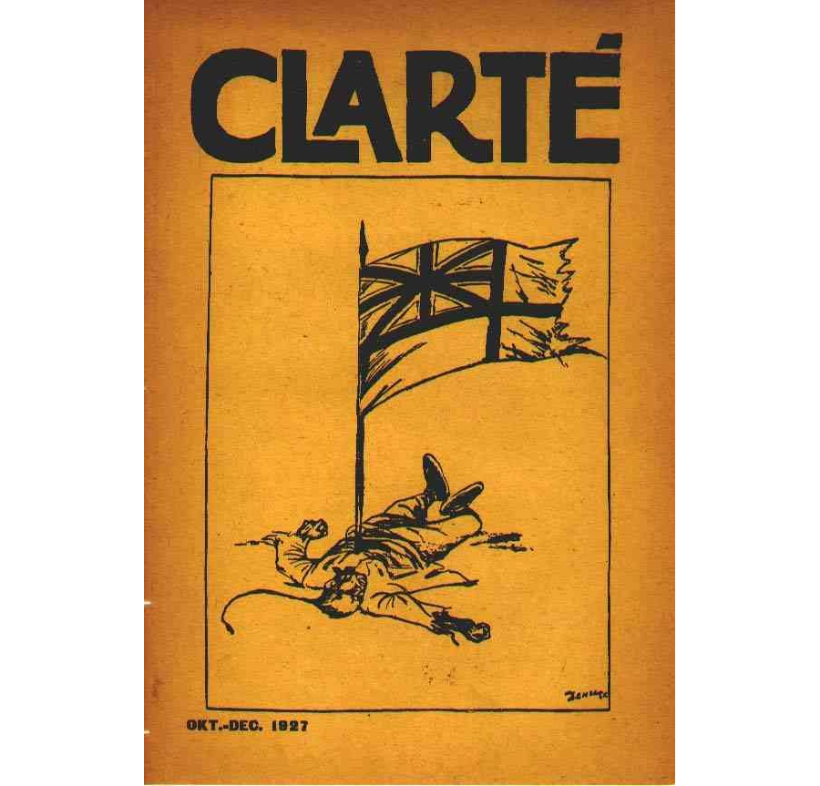 Clarté nr. 10-12, Oktober - December 1927