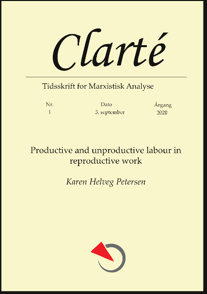 Productive and unproductive labour in reproductive work